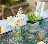 Bohemian California ranch wedding