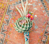 Southwestern/Art Deco wedding inspiration