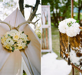 Fall rustic glam wedding inspiration