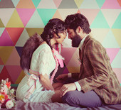 Colorful Bohemian wedding inspiration