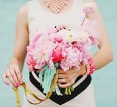 Pink & black wedding ideas
