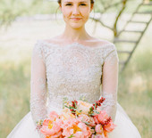 Romantic Salt Lake wedding