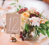 Elegant Kansas wedding