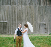 Handmade Canadian wedding