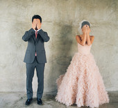 Sparkly pink wedding