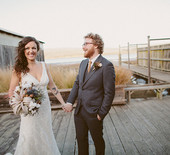 Rustic Point Reyes wedding