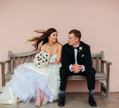 Elegant Florida art museum wedding