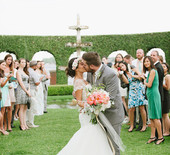 Romantic Florida garden wedding