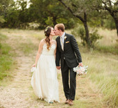 Texas outdoor wedding