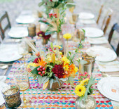 Fall bohemian wedding inspiration