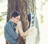 Rustic Oregon wedding