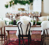 Scandinavian Christmas wedding inspiration