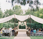 Elegant California garden wedding