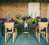 Industrial modern wedding ideas
