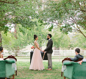 Intimate pastel wedding inspiration