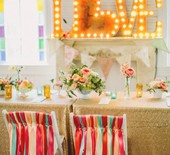 Colorful Austin, Texas wedding
