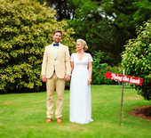 Ireland countryside wedding