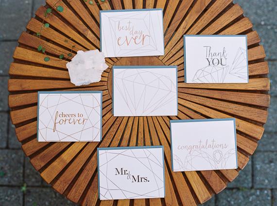 Modern Wedding Invites Uk: Mid-century Modern Wedding