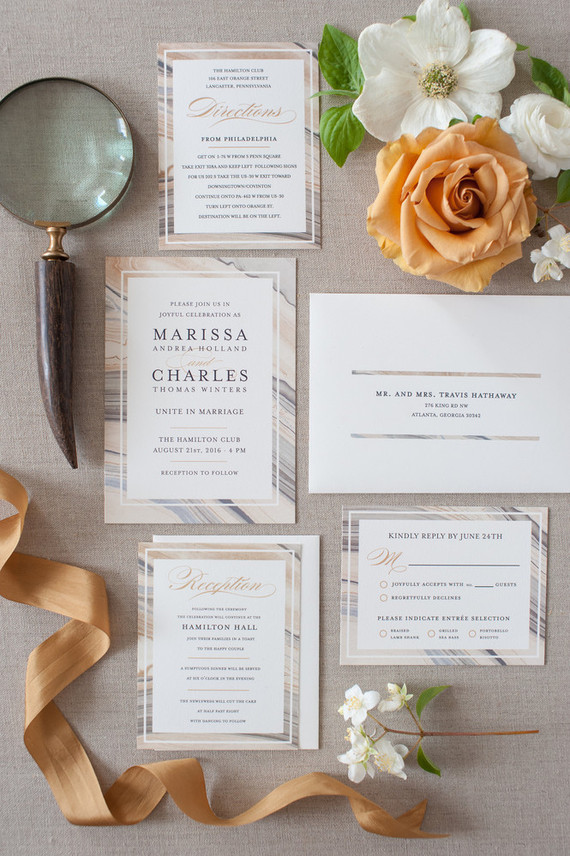 Minted Wedding Invitation Trends 100 Layer Cake