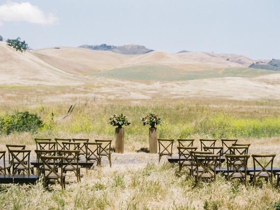 Reinstein Ranch wedding ceremony