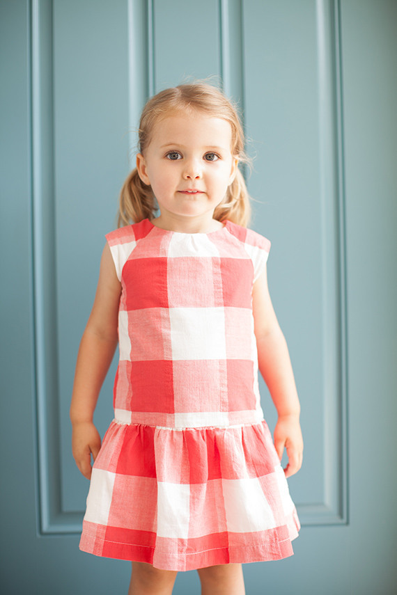 cutest gingham dress