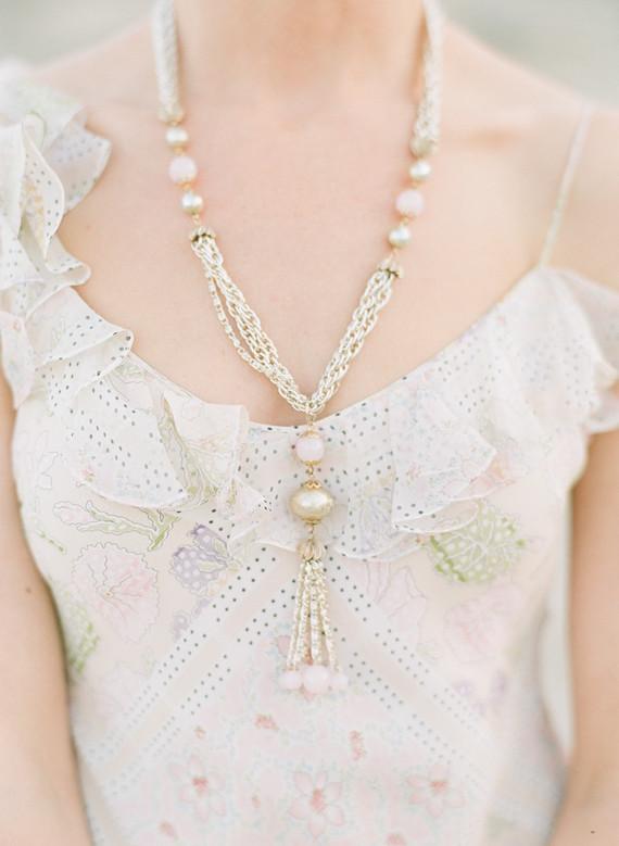 John Galliano reception dress