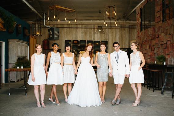 Bridemaids portrait