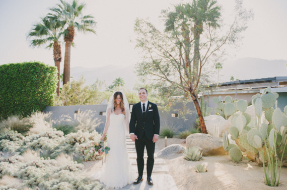 Retro Palm Springs Wedding At Frank Sinatra Estate 100