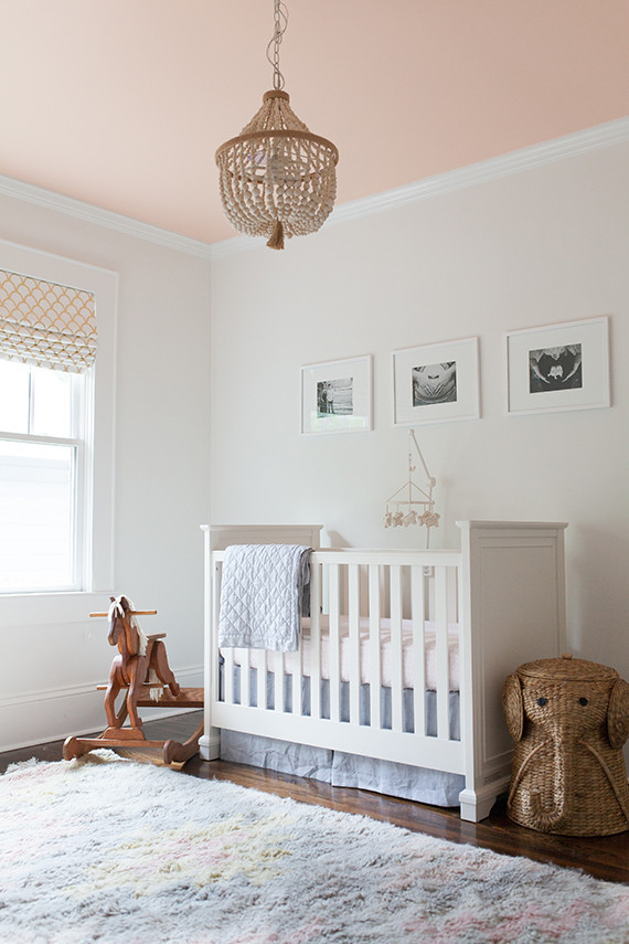 Soft Pink Girl S Nursery And Newborn Photos By Lauren Ann