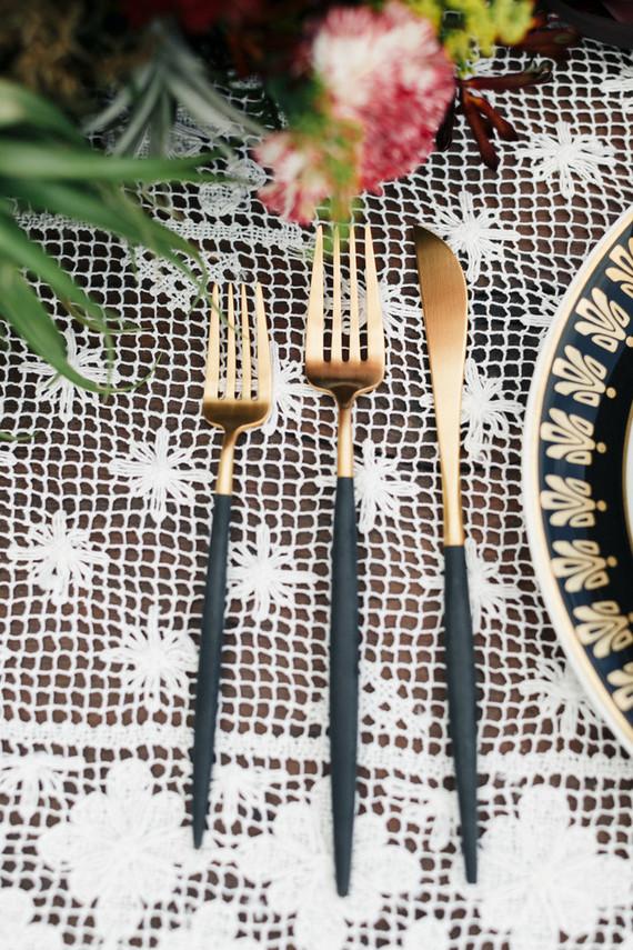 Bohemian flatware