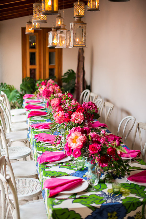 Hot Pink Floral Birthday Party In San Jose Del Cabo Kids Birthday