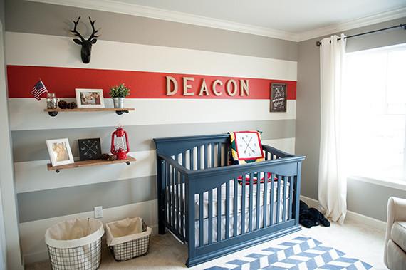Primary adventurous nursery for a boy