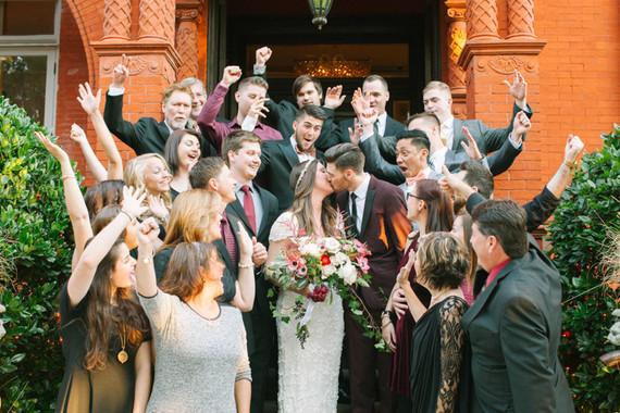 Fall Georgia wedding