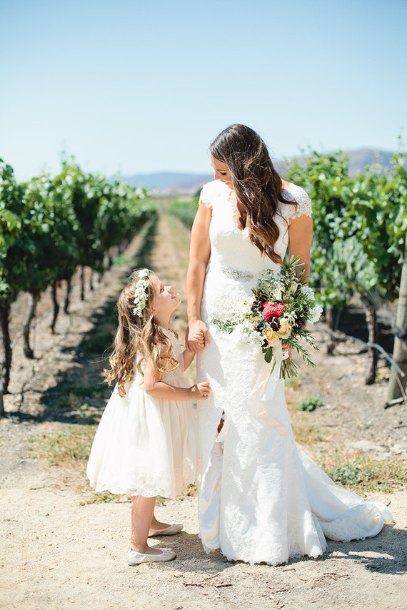 romantic vineyard wedding in san luis obispo categories real weddings