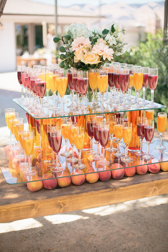 Summer wedding cocktails
