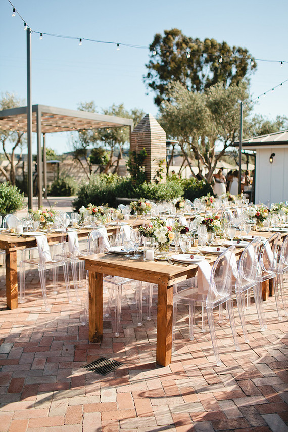 Biddle Ranch Vineyard reception