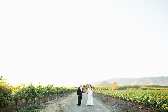 Biddle Ranch Vineyard wedding portrait
