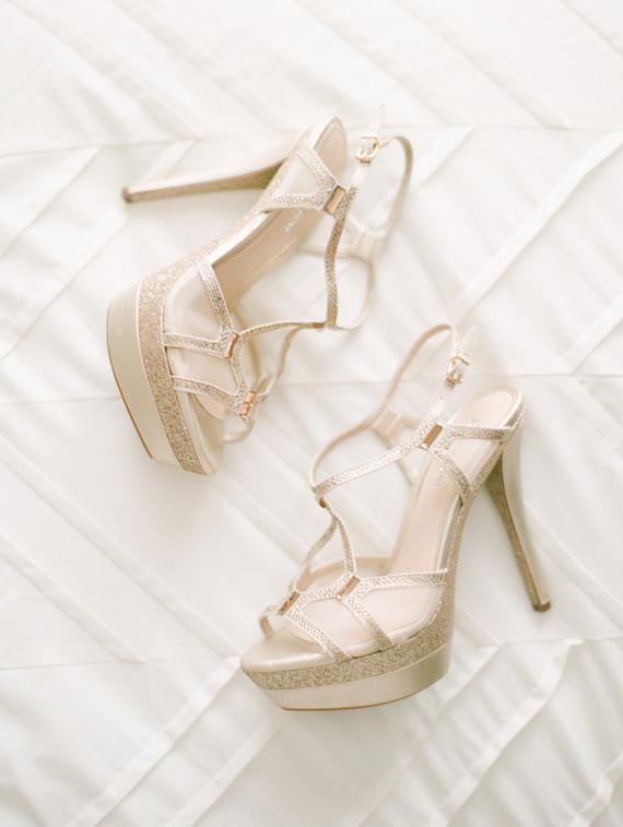 Gianni Bini wedding shoes