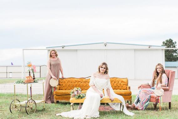 70s inspired wedding inspiration