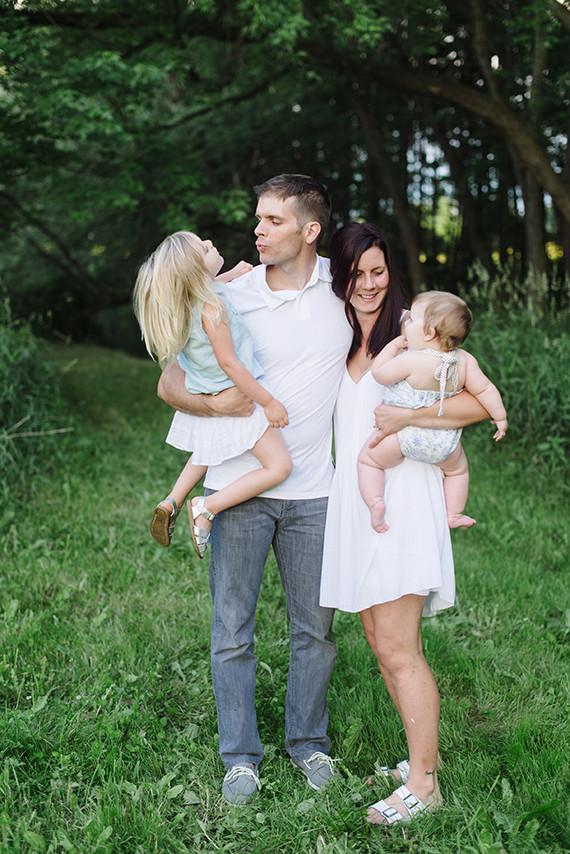 Tree farm family photos