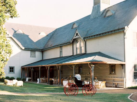 Southern plantation wedding venue