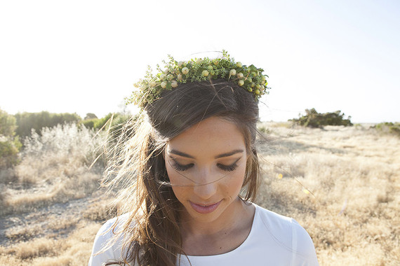 Flower crown headpiece