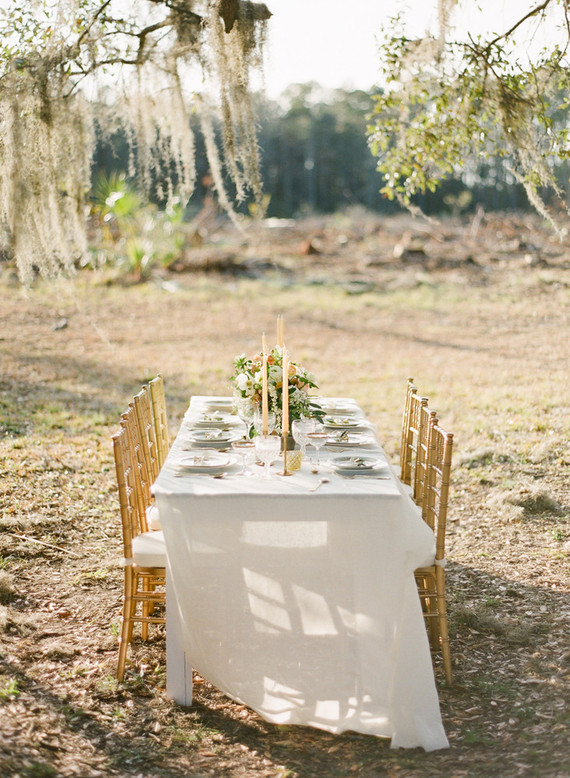 Romantic southern wedding inspiration