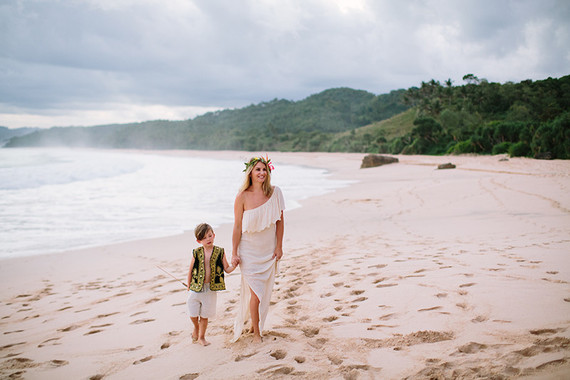 Indonesian island vow renewal