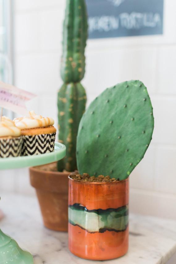 cactus party decor