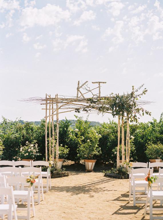 Soda Rock Winery wedding ceremony