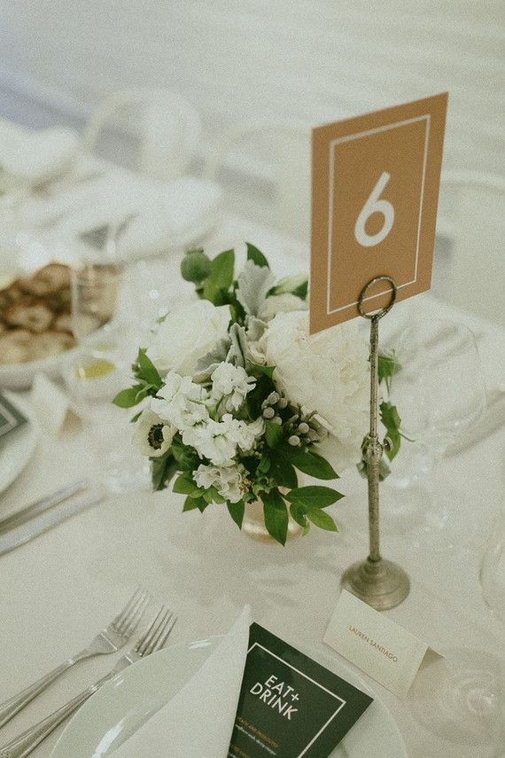 Kraft paper table numbers