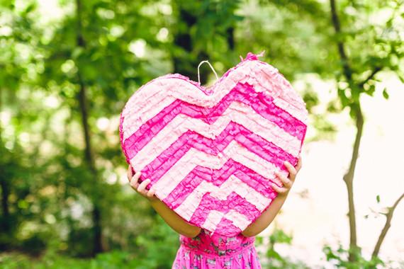 heart piñata
