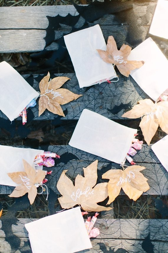 fall kids party favors