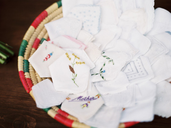 Ceremony handkerchiefs